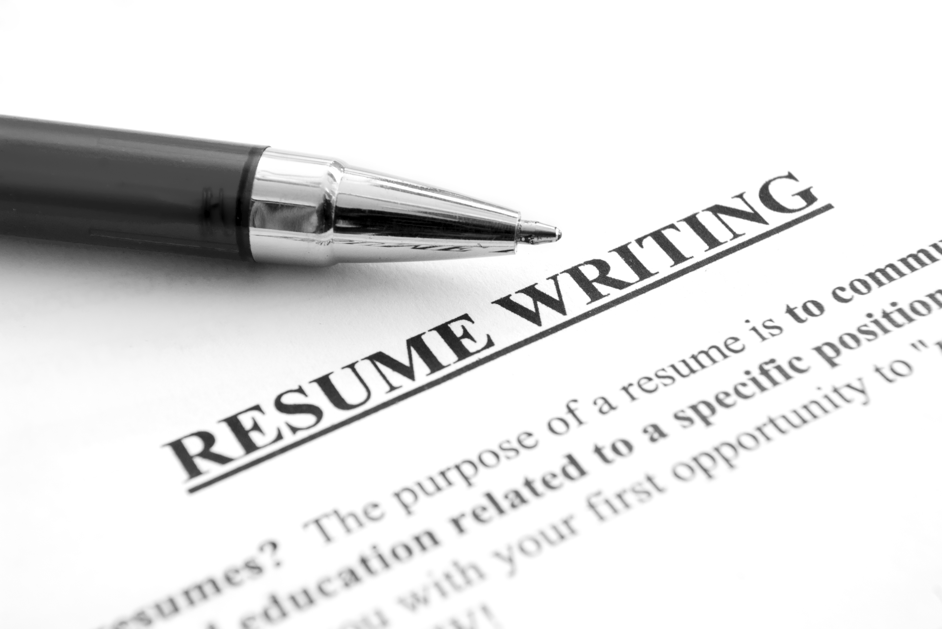 Resume and Cover Letter Writing – JW Warren LLC